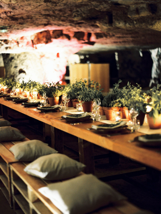Rehearsal dinner planned by Fête in France