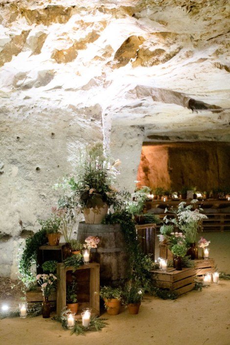 Wedding rehearsal dinner planned by Fête in France