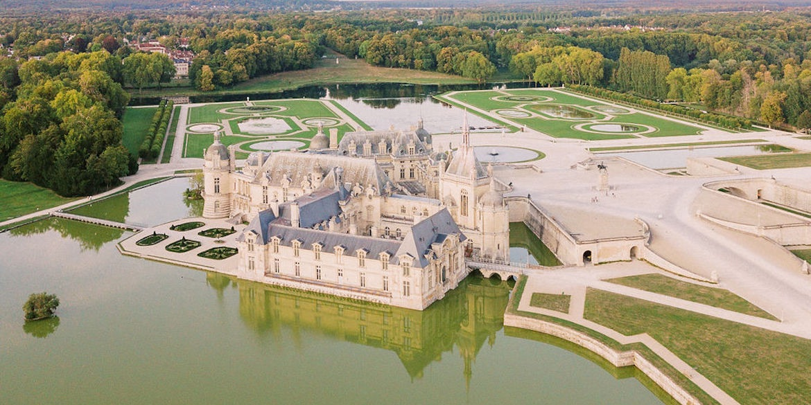 Chateau de Chantilly wedding planner