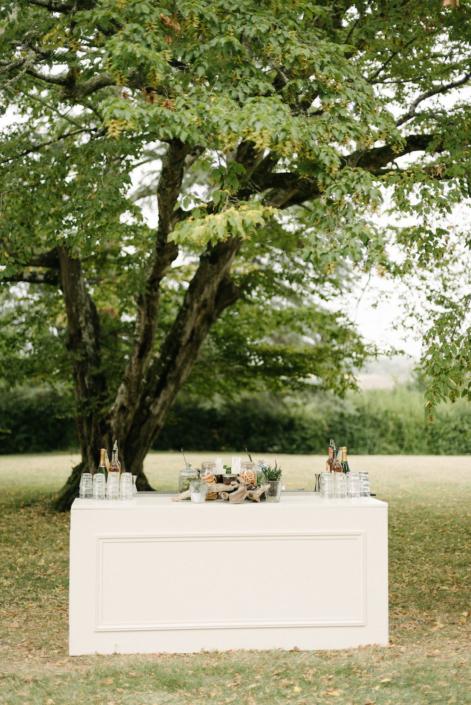 Wedding in France cocktail bar