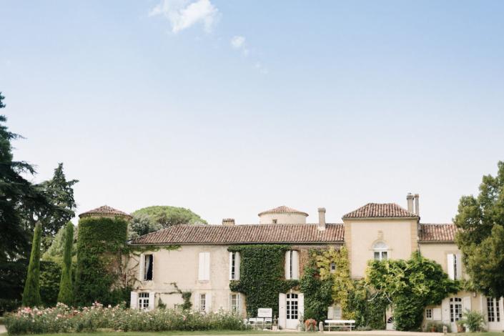 French countryside château wedding