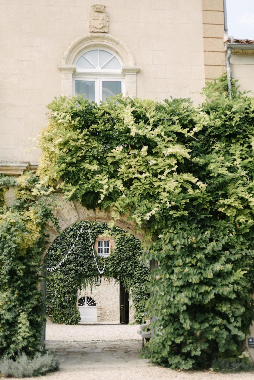 Wedding château in southwest France