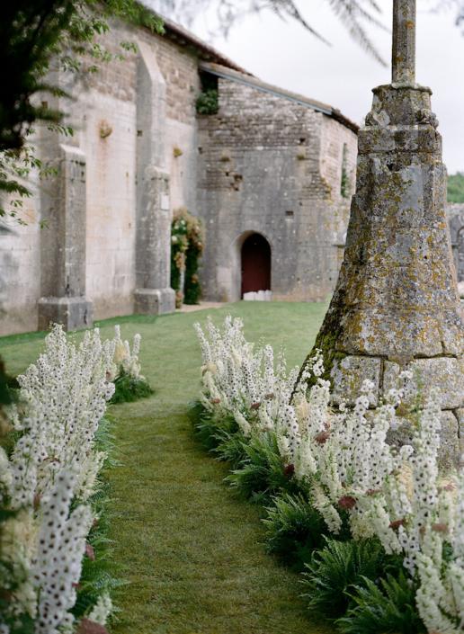 Allée cérémonie mariage - wedding planner bourgogne