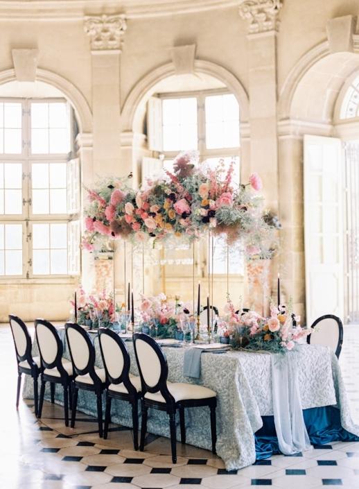 Fête in France Wedding designer at Château de Vaux le Vicomte