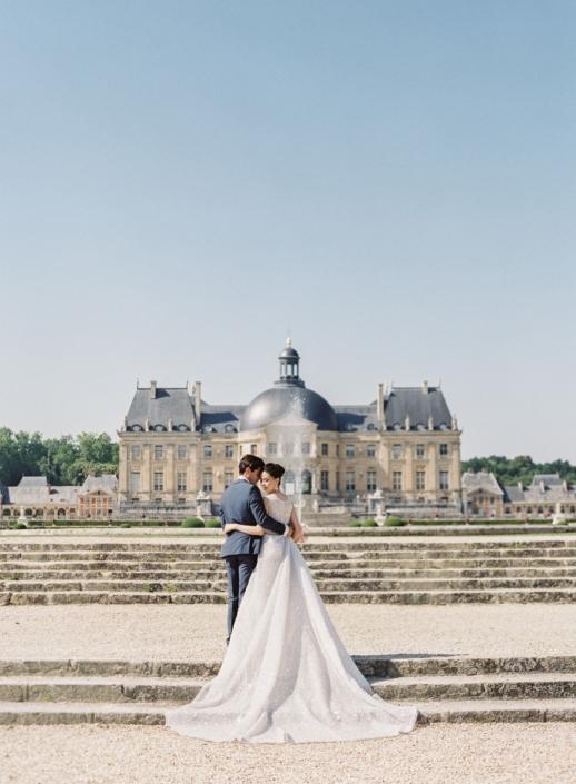 Wedding planner at Château de Vaux le Vicomte
