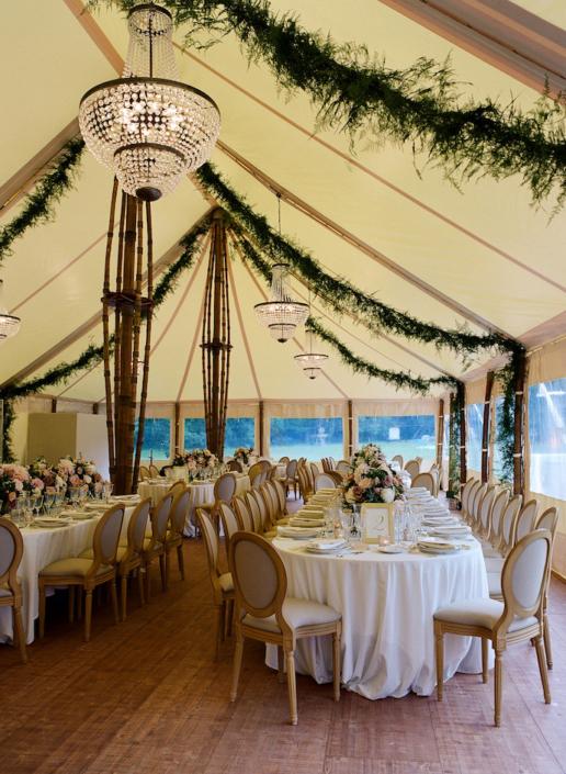 Décoration tente mariage - wedding planner France