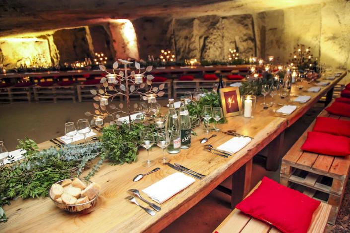 Décoration diner champêtre mariage