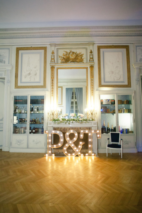 Wedding decoration by American Wedding Planner in France