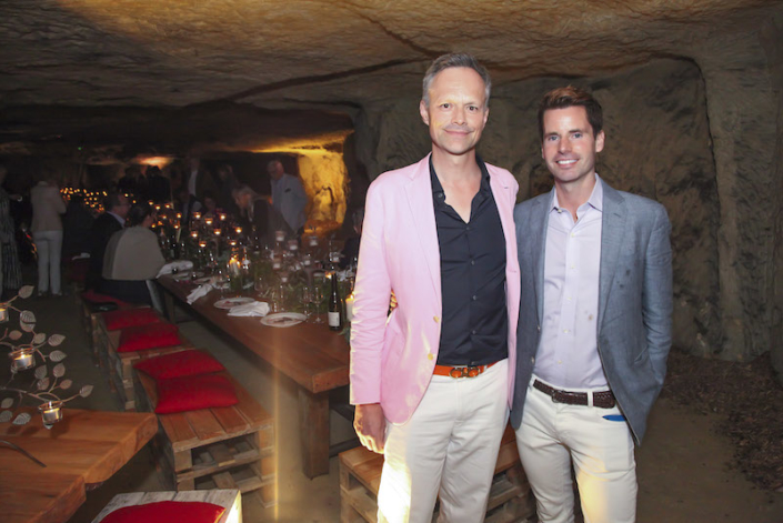 Mariage gay diner d'accueil