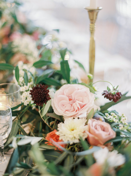 French countryside wedding flowers