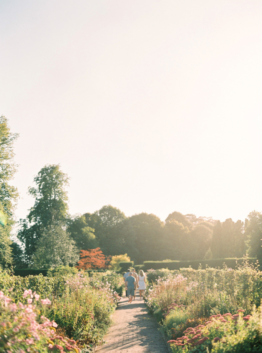 French countryside wedding in a garden