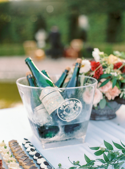 French countryside wedding cocktail