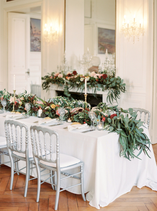 French countryside wedding decor