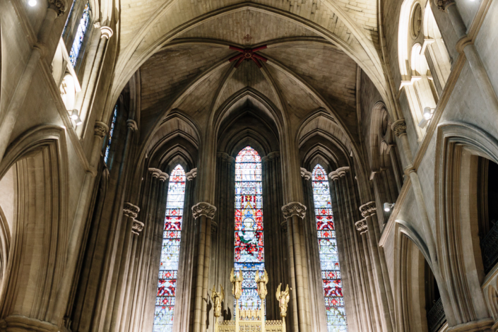 American Cathedral of Paris wedding planned by Fête in France