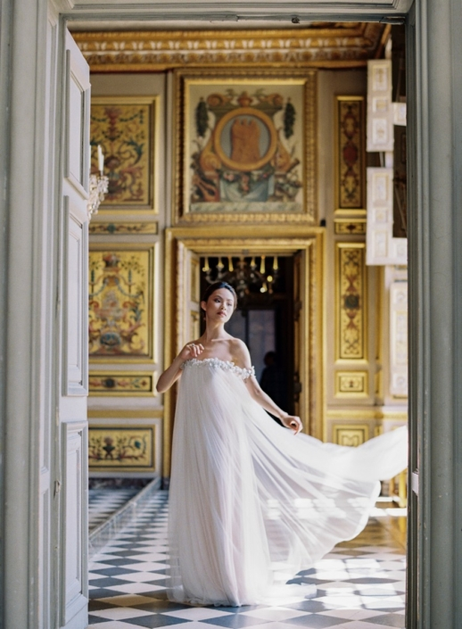 Wedding at a French château planned by Fête in France