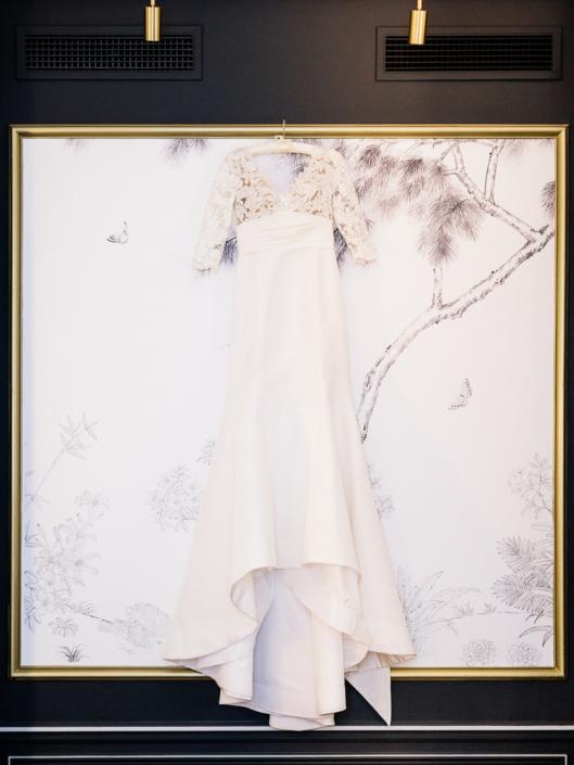 Luxury Paris wedding gown by Oscar de la Renta