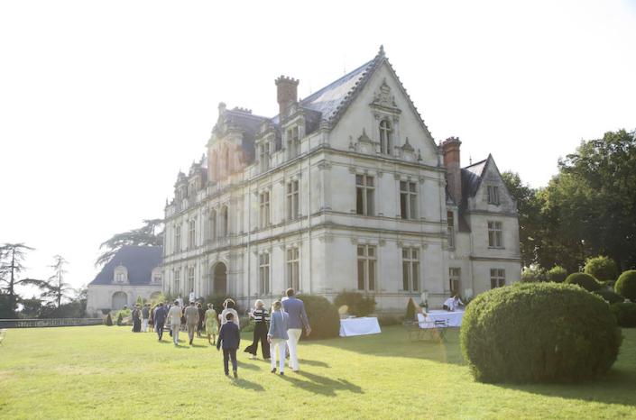 Vin d'honneur mariage chateau vallée de la Loire