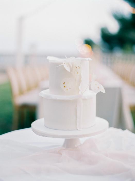 South of France wedding cake