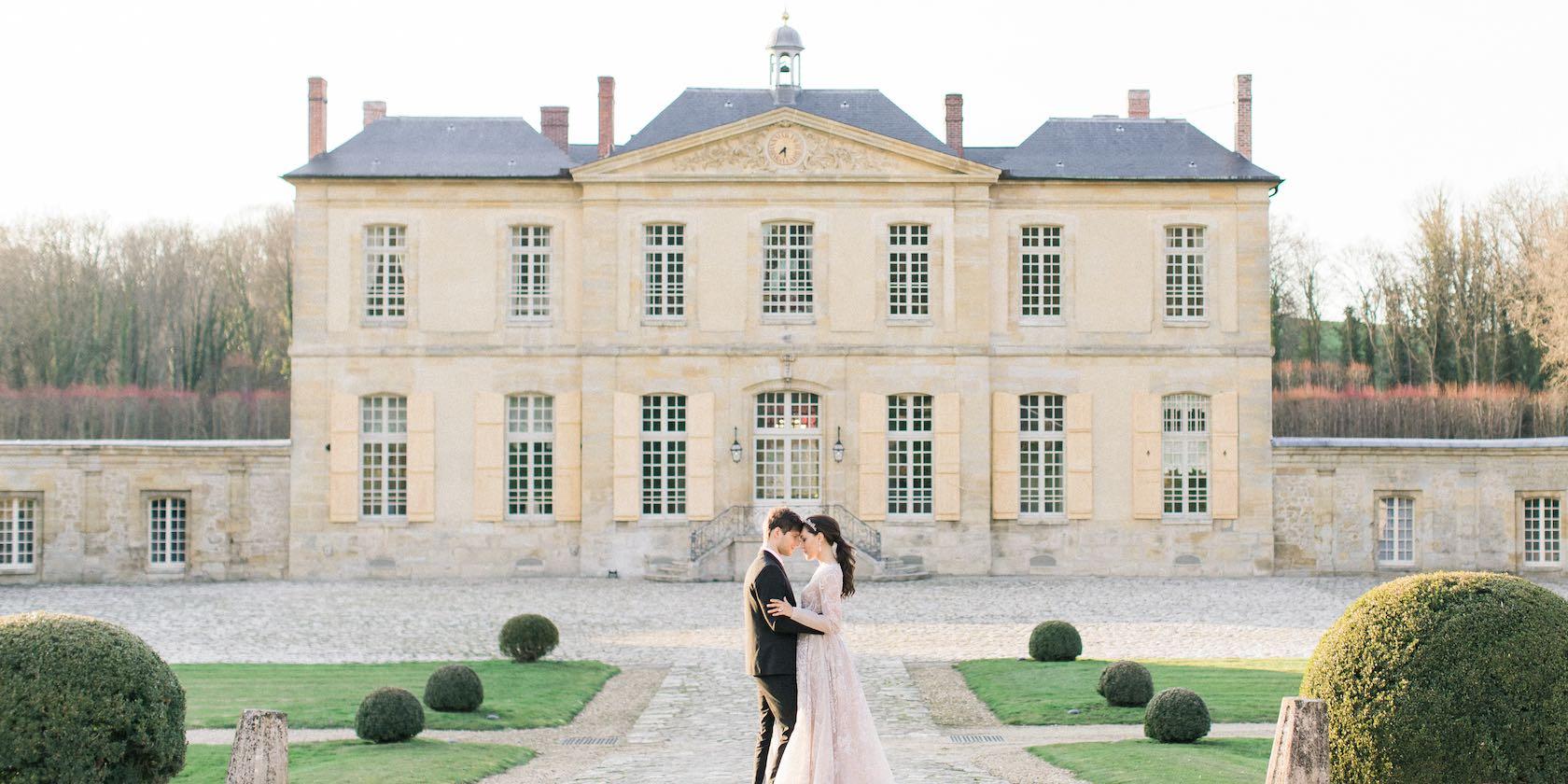 Wedding planner France château