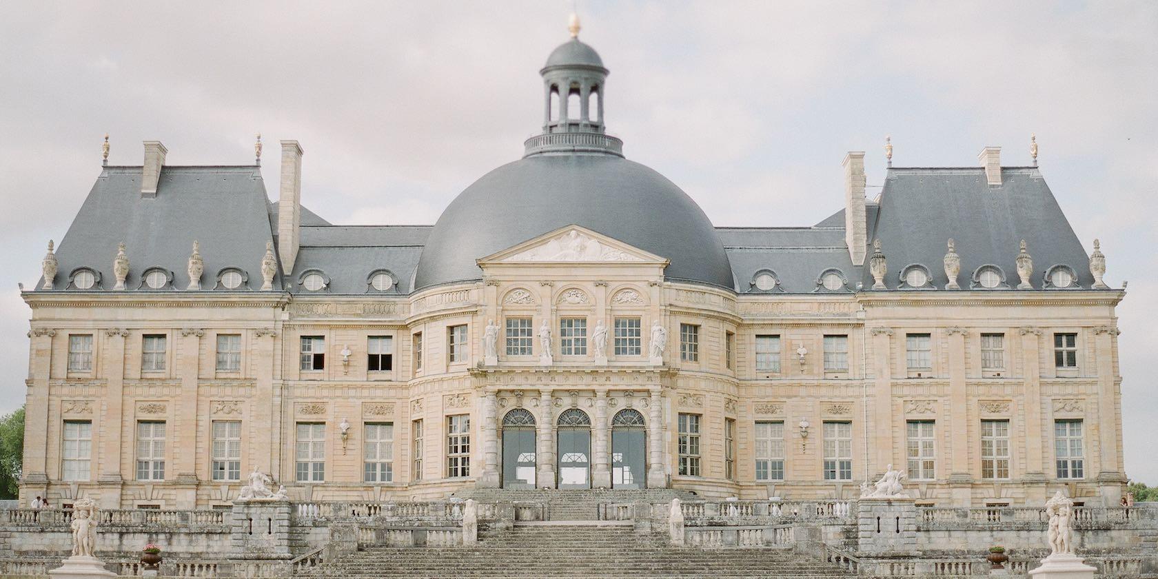 Vaux le Vicomte château wedding planner