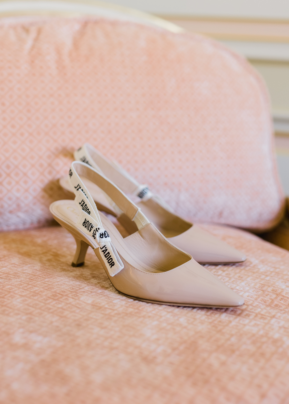 Paris wedding shoes by Christian Dior