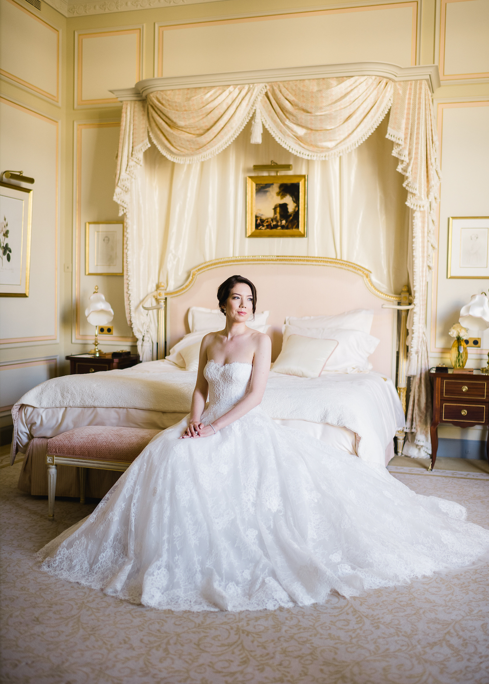 Ritz Paris bridal suite Fête in France wedding planner